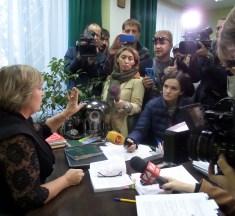 Акція протесту проти суддівського свавілля: як виправдовувалася суддя Ганна Білик