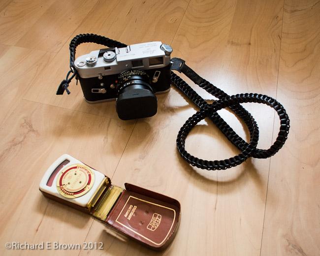 Camera Strap & Light Meter