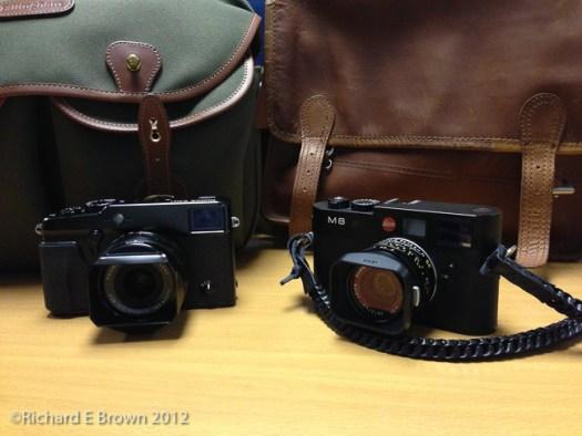Leica M8 and Fuji XPro1