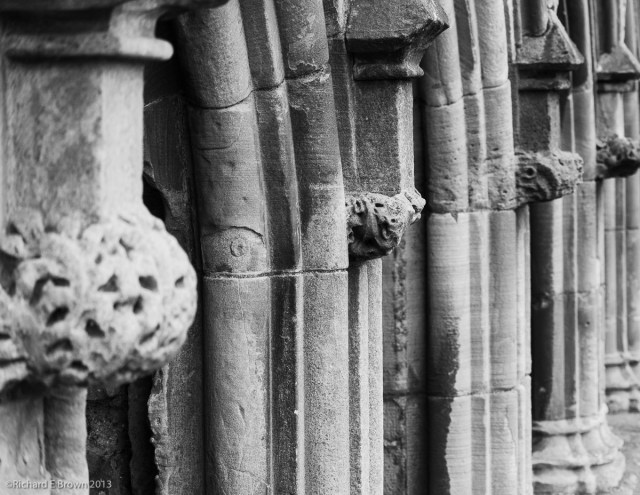 Melrose Abbey Remains