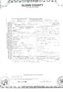 Death Certificate-A. Allen Alexander