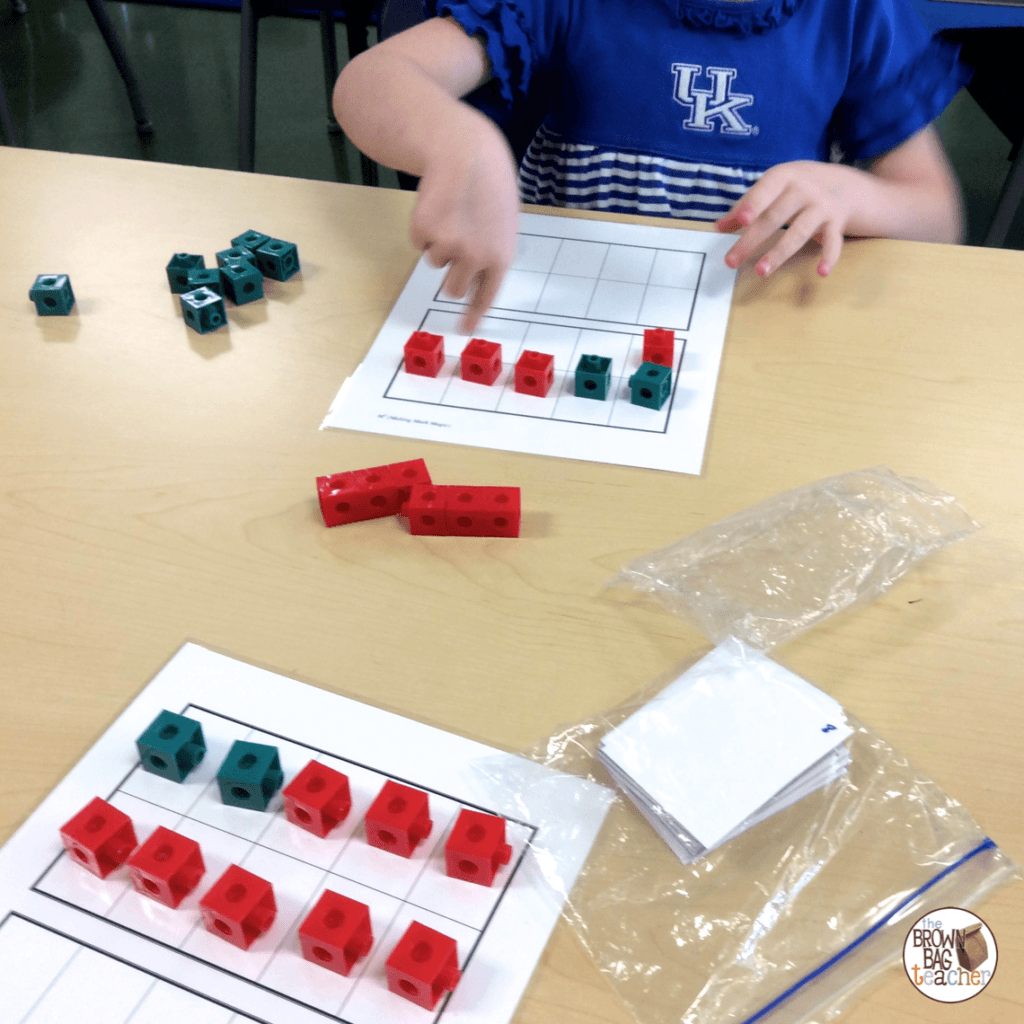 Representing Numbers And Making 10 Ten Frame Practice