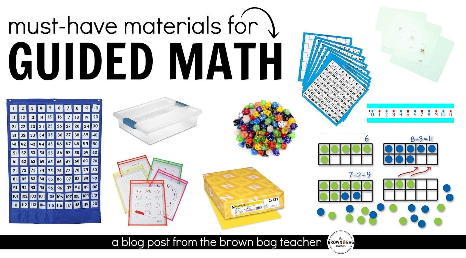 Guided Math Must Have Math Materials