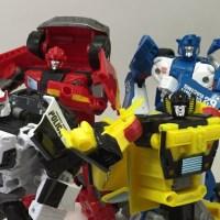 Review: Transformers Combiner Wars Deluxe Wave 4 (Prowl, Ironhide, Mirage, and Sunstreaker)
