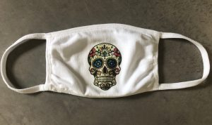 Custom Decorated High Quality 3-Ply Face Mask
