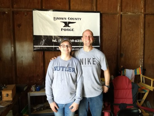 Father and Son Blackmith Class - Brown County Forge