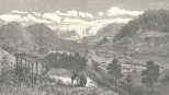 Cutting Through the Culebra Mountain- General View of the Works, Looking East, Towards Colon, June 16, 1888, 661