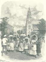 Sunday Morning in Georgetown, Demerera, March 31, 1888, 330