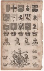 Heraldry, Portable Encyclopaedia, 1826
