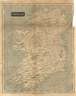 Map of Ireland, London General Gazetteer, 1825