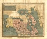 Map of Polar Regions Including British Nth America &c, London Encyclopaedia, Vol. 17, 1829