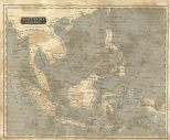 Map of the East India Islands, London General Gazetteer, 1825