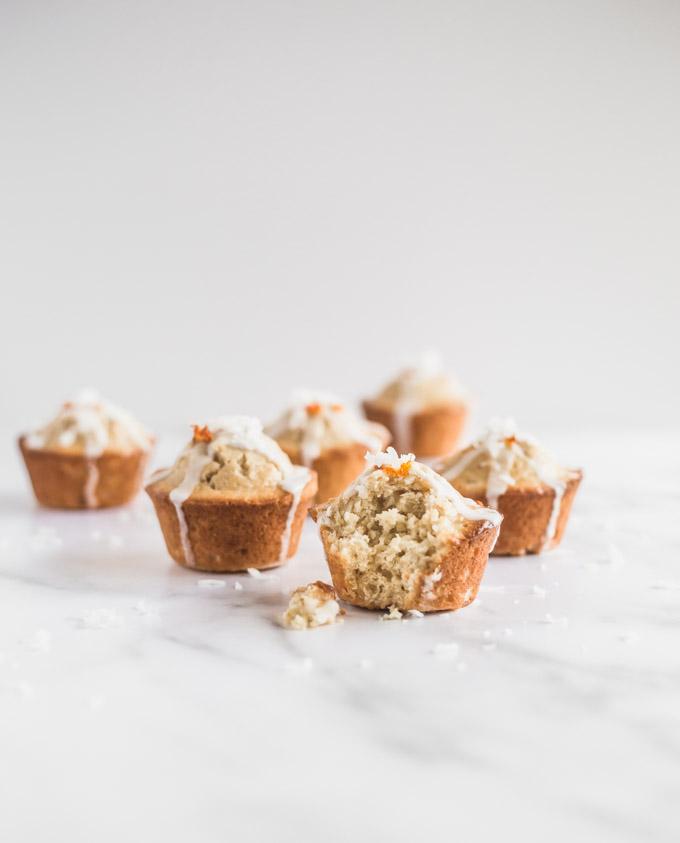 Blood orange muffins, coconut muffins, muffins, breakfast, morning muffins