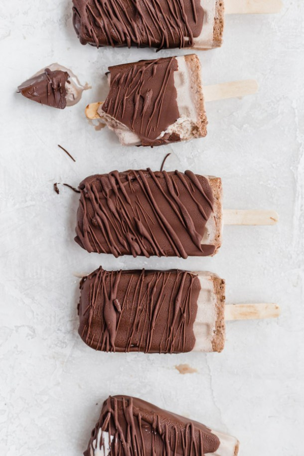 fudgsicles, chocolate, chocolate covered, popsicles, chocolate popsicles