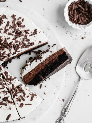 boxed-brownie-mousse-cake
