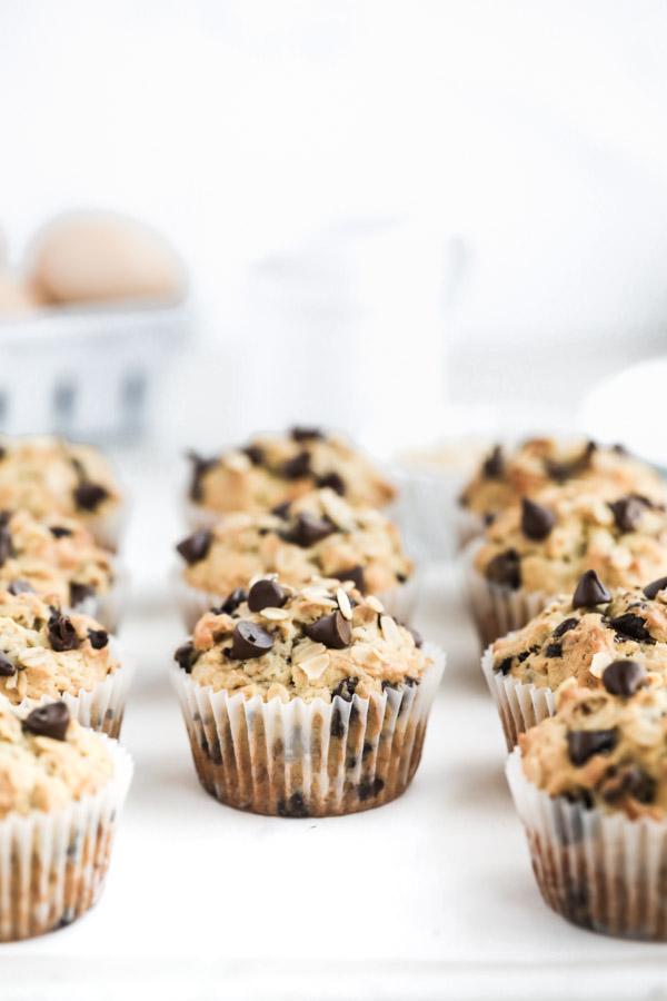 chocolate-chip-banana-oatmeal-muffins