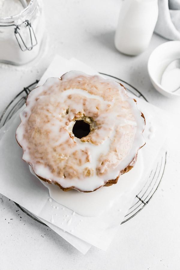 glazed-old-fashioned-donut-cake