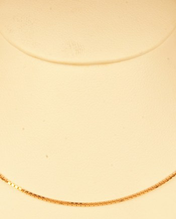18 Inch Rose Gold Box Chain 14K Rose Gold-0