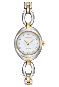 Citizen Eco-Drive Women's Two-Tone Stainless Steel Watch-0