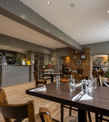 Brownes on the Green Restaurant Dining Area and Wine Bar
