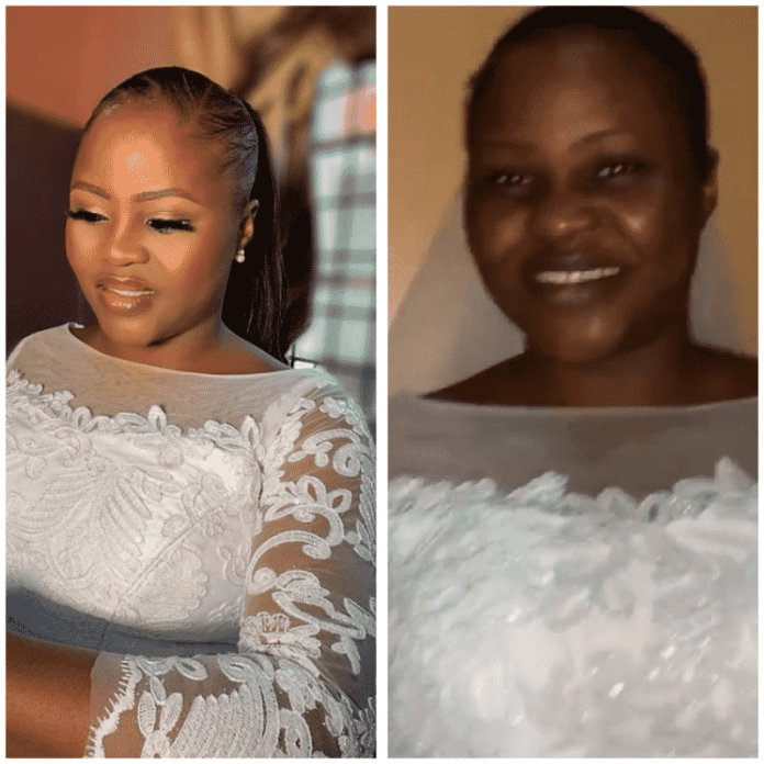 Bride takes off makeup because the church doesn't allow it – Makeup artist shares unusual encounter(video)