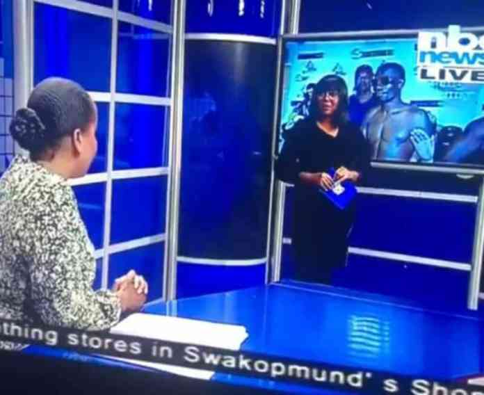 """""""Jessica we are live"""" -TV host says as co-host embarrassed her during live telecast (Video)"""