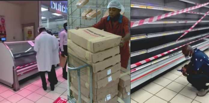 FDA closes the meat section of shoprite for selling thawed chicken as fresh chicken