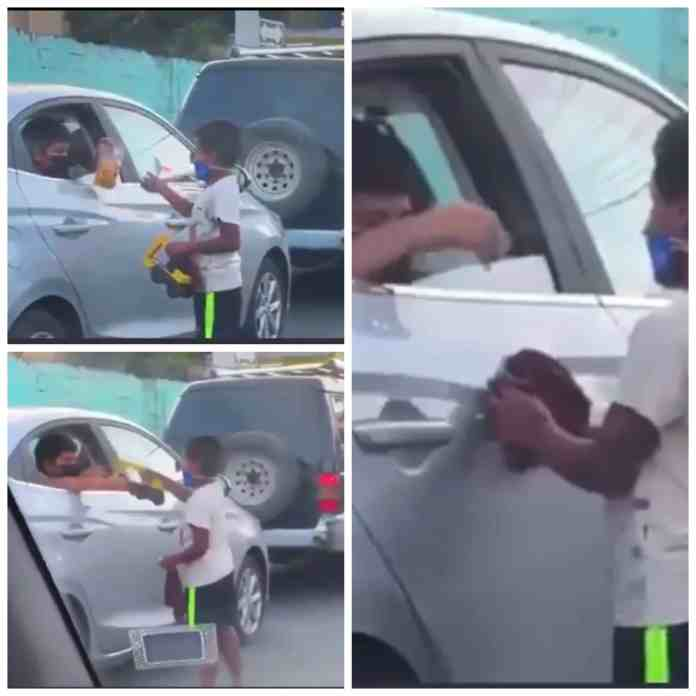 This video of rich kid giving money and gifts to street kid will melt your heart