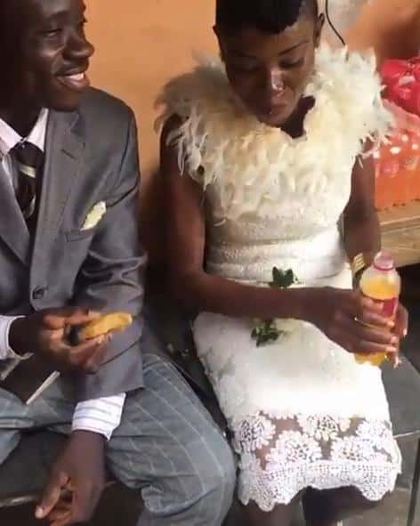 No long thing! Couple spends GHC17 on their wedding(Video)