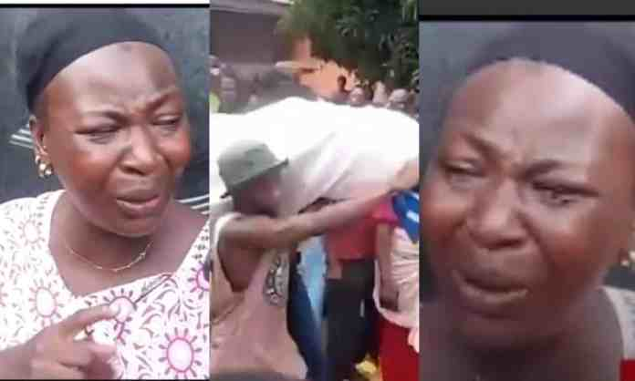 Ejura Protest shooting of youth: My brother was killed on his way yo buy food, he died hungry-Sister of shot victim cries (Video)