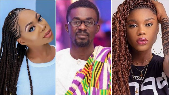 Michy used to fight Becca over NAM1-Maglove drops back to back secrets about Michy(Video)