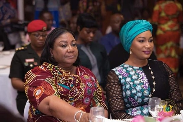 See the huge amount Rebecca Akufo-Addo and Samira Bawumia could cash out in 4 years