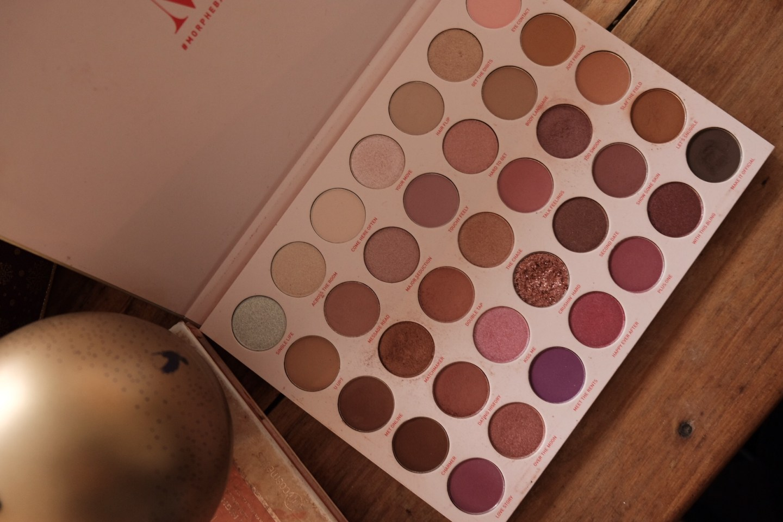 blogmas : palette morphe maquillage