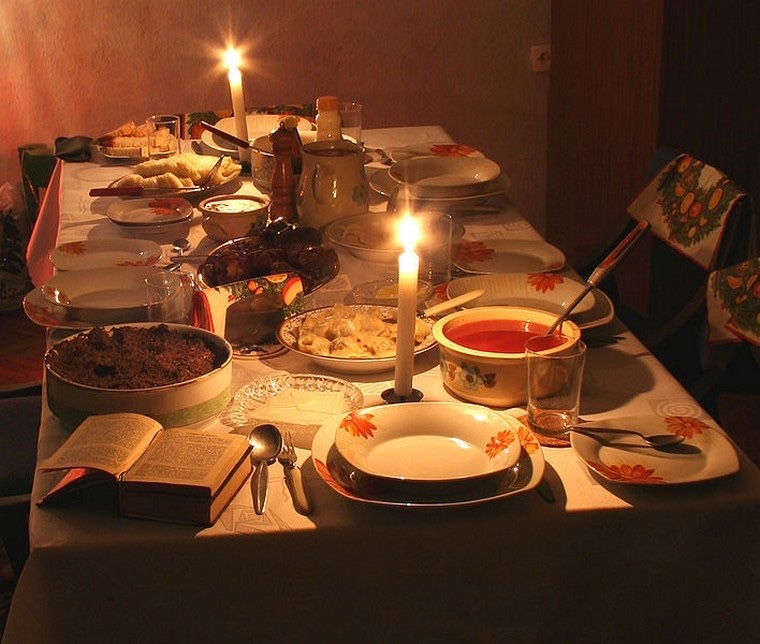 tradition: repas en pologne