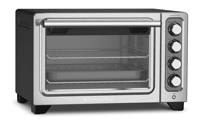 Merveilleux KitchenAid KCO253BM 12 Inch Compact Convection Countertop Oven