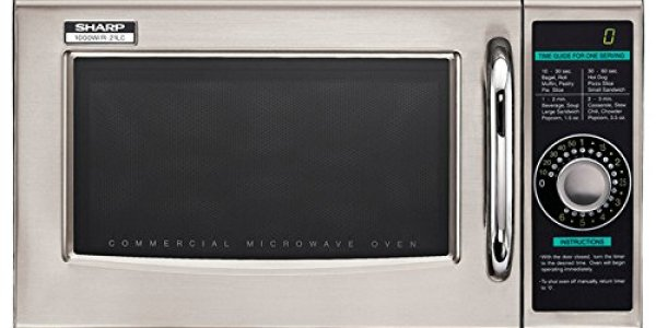 Sharp Electronics R-21LCF Microwave Oven Review