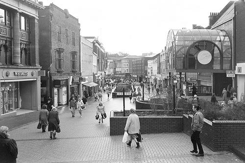 Park St, Walsall, 1994