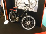 This is interesting: an electric bike with everything - including the lights - integrated into the frame.
