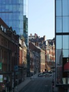 The architecture in Snow Hill is a wonderful mix of Victorian and modern.