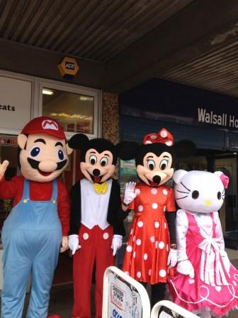 Mario and Hello Kitty, too. Image courtesy Nicole Quinn.