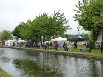 Despite the frankly awful weather, and the fact that I arrived late in the day, things were still quite busy.