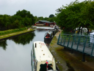 I've not tried the tilt-shift thing on the camera before. Ooh, shiny.