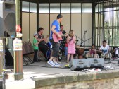 The jam session with the kids was brilliant