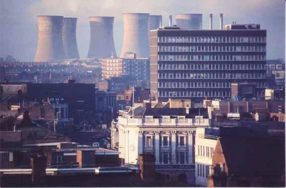 power station from walsall town centre