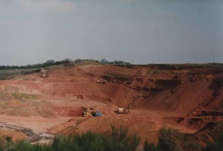 Old quary, Wharf Lane 1993