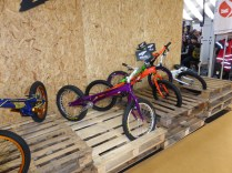 The freeride kids are serious, and don't need none of your steenkin' saddles...