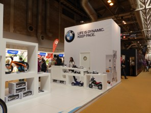 Comes to something when one of the biggest stands is by a car manufacturer not known for bikes