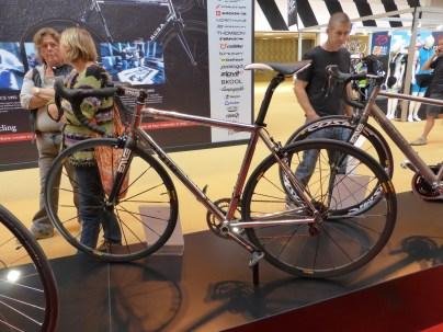 Titanium makes for a lovely frame. Enigma make a lovely bike.