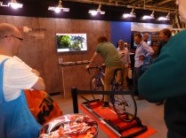 Ride a rolling road ('Trainer') and take part in video races. The bike is a Genesis, another brand largely absent.