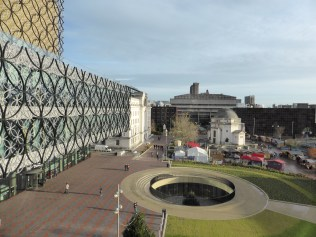 The sunken coffee shop was a surprise. A great view from the Big Wheel, and only £4 a pop.